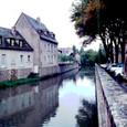 シャルトルの街並み:フランス